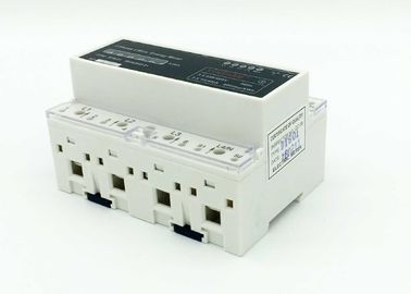 China Active Electronic 3 Phase KWH Meter DIN Rail For Intelligent Buildings 4kv Isolation supplier