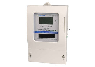 China LCD Display 4 Wire Three Phase Prepaid Energy Meter For Residential 3X220/380V Output supplier