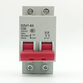 High Breaking Capacity MCB Circuit Breaker For Dwelling House Two Poles