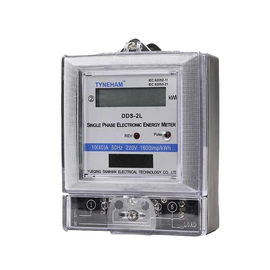 Anti Tamper Single Phase KWH Meter With Plastic Case 50 Rated Frequency