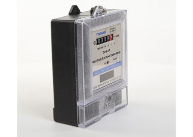 High Accuracy Digital KWH Meter With Single Phase Two Wire Circuit Design