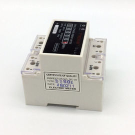 Register Type DIN Rail Mounted Single Phase KWH Meter For Residential -20 ~ +70