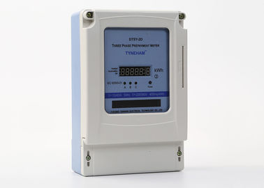 Smart IC Card Three Phase Prepaid Energy Meter For Intelligent Buildings