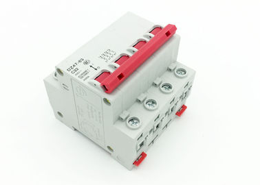 DZ47 Series 4P MCB Circuit Breaker For Power Distribution System IEC60898-1 Standard