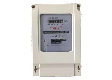 Counter Display Three Phase KWH Meter For AC Active Power Saving Direct Connect